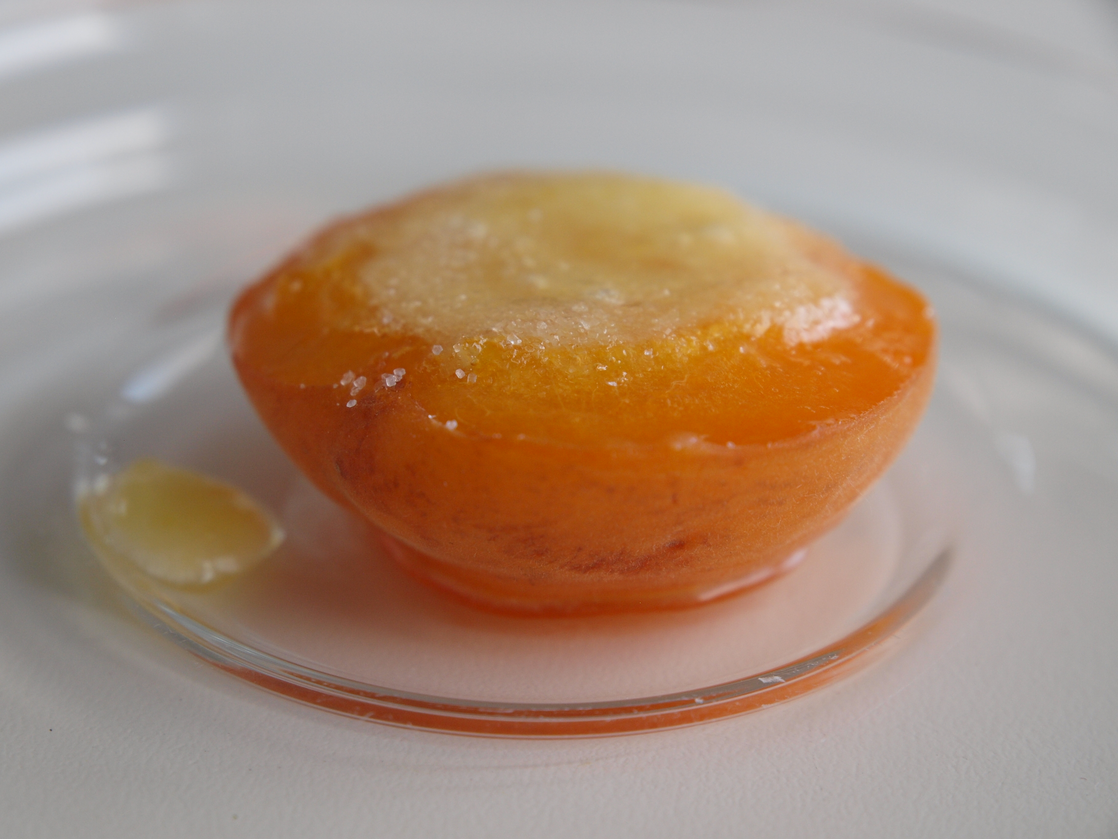 Grilled Apricots with Mascarpone Cheese and Vanilla Ice ...